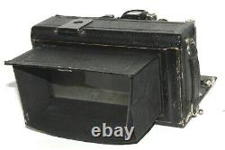 ICA STEREO IDEAL 651 FORMAT 6x13 COMPUR CARL ZEISS TESSAR 4,5/90 mm TBE