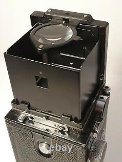 Ikoflex II/III Tessar Teronar 75mm f/3,5 6x6 Zeiss Ikon 852/16 KC
