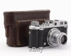 Italian Rangefinder Camera Gamma I Roma with Som Bertiot Flor 50mm