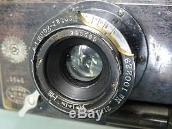 JUMELLE GAUMONT SPIDO OBJECTIF PROTAR ZEISS 9/134 mm -KRAUSS