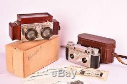 J. RICHARD Vérascope F40 et sa visionneuse