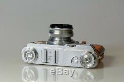 KIEV 4A type 2 + Jupiter 8M 12 de 50mm Révisé! Gainage unique