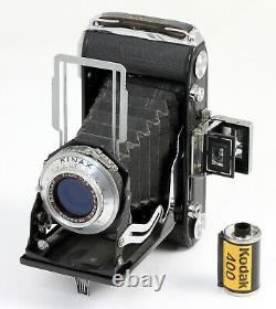 KINAX III Super Vues 6 x 9 film 620 Objectif bleuté Bellor 3,5/100 mm Vers 1950