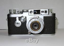Kamera Camera Sucherkamera Leica IIIg 1957 m. Leitz Elmar 3,5/50 rangefinder