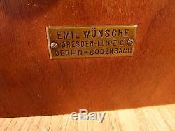 Kastenkamera von Emil Wünsche Dresden box camera Holzkamera Geheimkamera