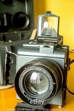 Kinoptik SFOM Type 681 aerial camera 120mm f/2 Dallmeyer / Angenieux