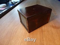 Kleine Schiebekastenkamera sliding box camera Holzkamera