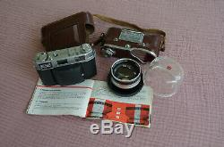 Kodak Retina IIIC. Made in Germany. 1960. Télémètre, cellule couplée