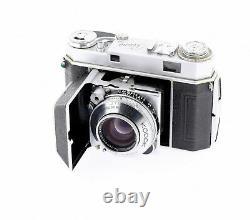 Kodak Retina IIa (type 016) + Schneider retina Heligon 2. /50 mm