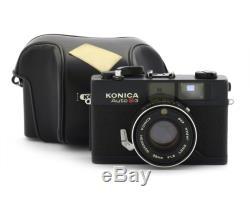 Konica Auto S3 Black Film Camera with Hexanon 1.8/38mm