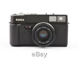 Konica Hexar Black 35mm Rangefinder Film Camera with 2/35 mm