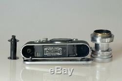 LEICA III F + LEICA SUMMITAR 12 de 50 mm Exc+ Range Finder