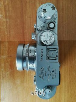 LEICA III F + LEICA summicron 12 de 50 mm 1954
