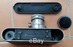 LEICA II Mod D noir N° 98539 + objectif Summar F2 50mm N°282699 1932