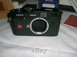 LEICA M4-P 1981 CAMERA BODY