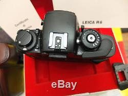 LEICA R6 favolosa macchina fotografica meccanica -Come nuova in box-OCCASIONE