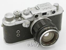 LEOTAX Showa Optical Co Ltd Japon vers 1952 Objectif Leotax Leonon 2/5 cm