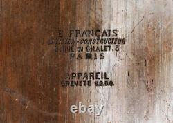 LE KINEGRAPHE E. FRANÇAIS format 9 x 12 cm Porte le N° 2 Paris France Vers 1887