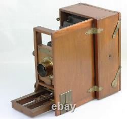 LUCIDOGRAPH Blair Camera Co Boston plaques de 12 x 20 cm USA Vers 1885