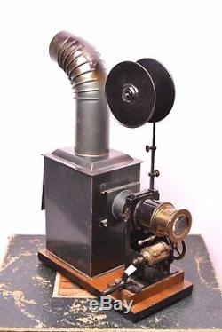 Lanterne magique cinématographe Bing, avec boite d'origine. Complet