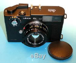 Leica CL mit Summicron C 2,0/40mm Nr1333784 sehr feine Erhaltung