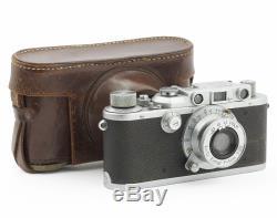 Leica IIIa Rangefinder Camera #337288 with Elmar 3.5/50 mm