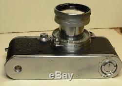 Leica IIIa SCHÖNHEIT BEAUTY 304644 Summitar 2/50 versenkbar Zustand bc 1938