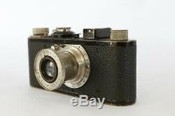 Leica I modele A N°16385 fabriqué en 1929 + Elmar 13,5 50 mm avec Télémètre