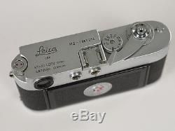 Leica M2 mit MR Metrawatt Belichtungsmesser 1962