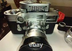 Leica M3 Camera With Lens 135MM F4.5