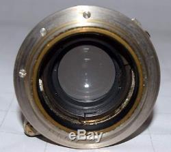 Leica Rangefinder III 1934 Camera With Ernst Leitz Wetzlar Summar f=5cm 1.2 Lens