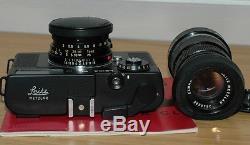 Leitz Leica CL Summicron-C 2/40 Elmar-C 4/90