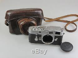 Leitz Leica DBP M3 Kamerabody #817914 + Leica Tasche jc078