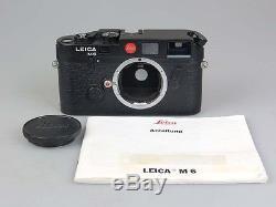 Leitz Leica M6, Nr. 1728369 + Anleitung rv030