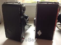 Lot 5 Appareils Photo Ancien-Coronet-Lumière -Dehel-Voigtlander-vintage Camera