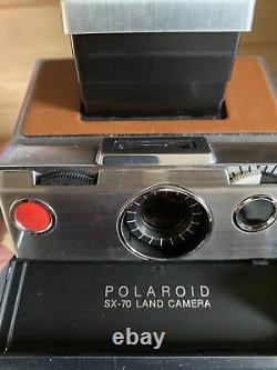 Lot POLAROID SX70 ORGINAL Vintage CASE Kit Accessoires Self Timer Flash Bar