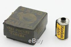 MONTRE EXPO New York USA Vers 1905 25 vues de 16 x 22 mm sur film souple