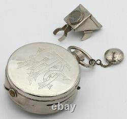 MONTRE TICKA HOUGHTON Appareil en forme de montre gousset Londres GB Vers 1906