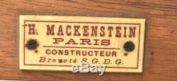 Mackenstein Appareil photographique de voyage