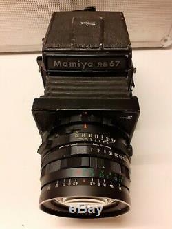 Mamiya Rb67 Pro S + 3 Objectifs + Compléments