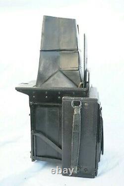 Mentor Folding klapp reflex 1925 9x12, obj Zeiss Tessar 15cm