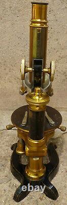 Microscope Verick Stiassnie vers 1890/1900
