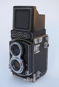 Minolta AUTOCORD TLR 6x6 Modèle I Citizen MVL idem Rolleiflex + sa housse 1965