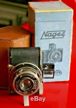 NAGEL Pupille SPECIAL pour MEGOFLEX avec Leitz Elmar 5 cm, + box + étui + pied