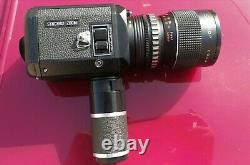 NALCOM FTL synchro zoom SUPER 8 CAMERA MINT film tested fully working