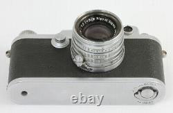 NICCA 3-F N°85.867 Nippon Kogaku Japan Nikkor-H-C 2/5 cm Japon Vers 1956