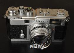 NIKON S3 WITH 50MM F2 LENS RANGEFINDER