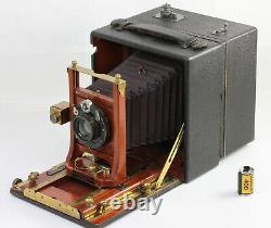N°8 Cirkut KODAK Pano Camera Folmer Graflex div. EKC Rochester NY USA Vers 1910