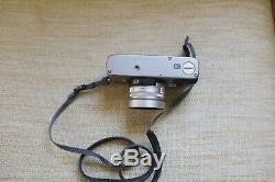 Near MINT CONTAX G2 + Planar 35mm /2 et Sonnar 90mm/2,8 avec flash étuis, boîtes