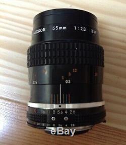 Nikon AiS 55 mm f2,8 macro